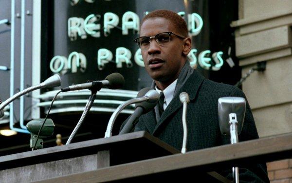 Movie Malcolm X Denzel Washington HD Wallpaper   Background Image