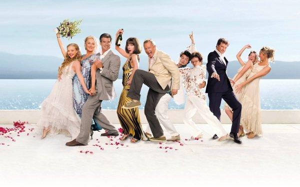 Movie Mamma Mia! Amanda Seyfried Meryl Streep Pierce Brosnan Colin Firth HD Wallpaper | Background Image