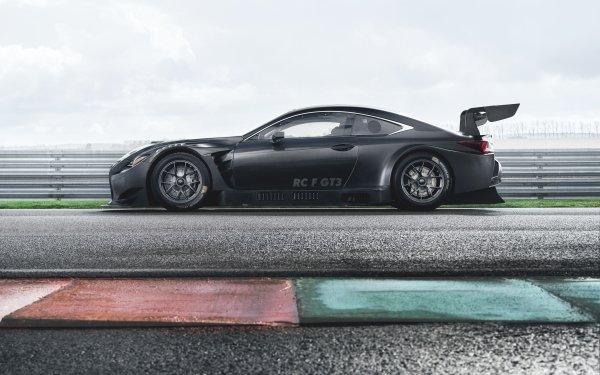 Véhicules Lexus RC  Lexus Lexus RC F GT3 Voiture de course Voiture Black Car Fond d'écran HD | Image