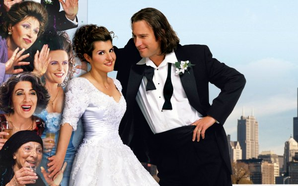 Movie My Big Fat Greek Wedding John Corbett Nia Vardalos HD Wallpaper | Background Image