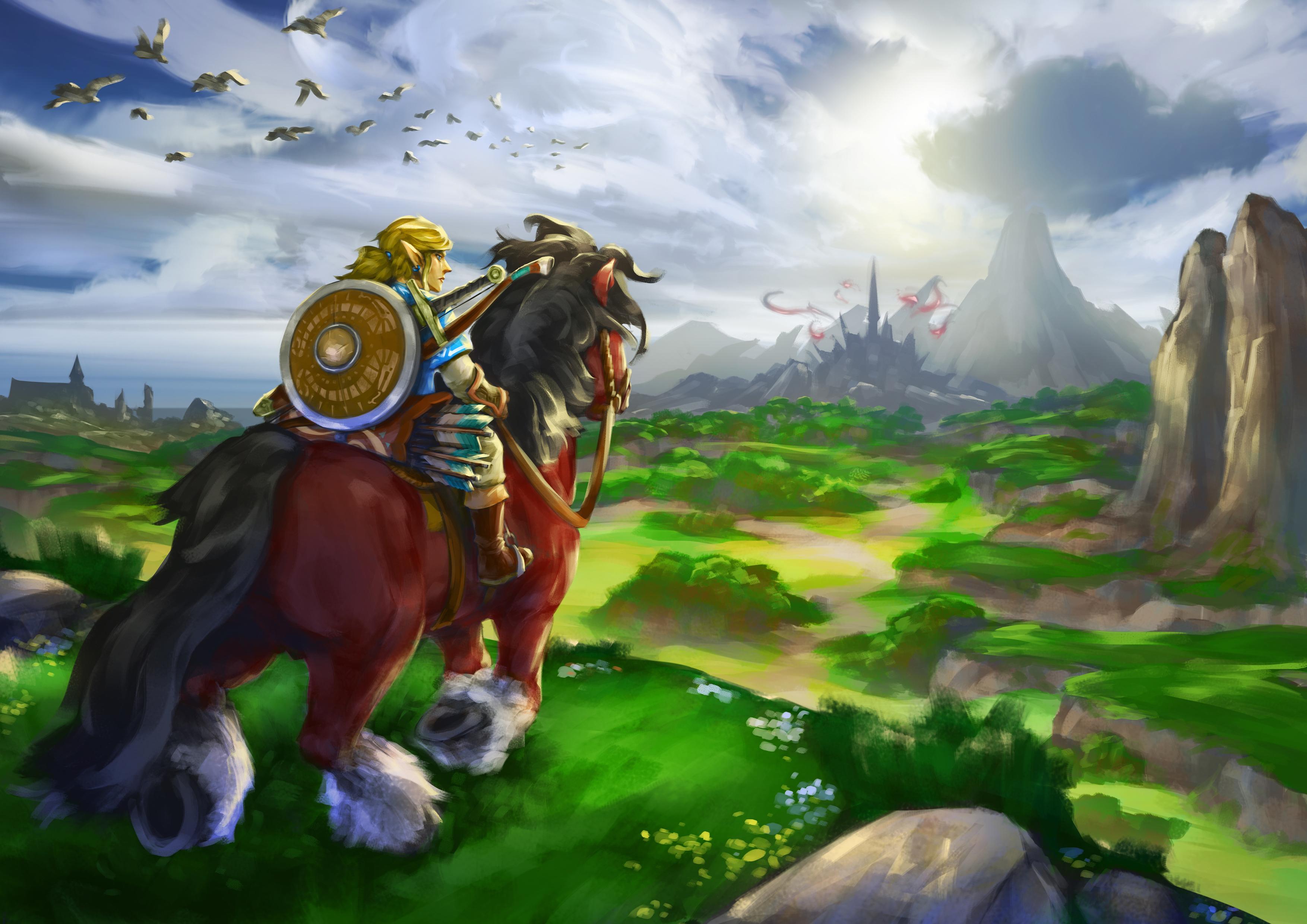 The Legend of Zelda: Breath of the Wild HD Wallpaper ...