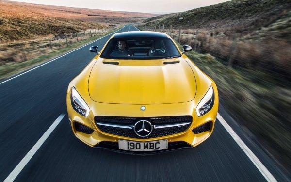 Véhicules Mercedes-AMG GT Mercedes-Benz Voiture Sport Car Supercar Yellow Car Fond d'écran HD | Image