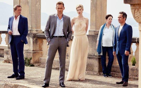 TV Show The Night Manager Cast Hugh Laurie Tom Hiddleston Elizabeth Debicki Olivia Colman Tom Hollander HD Wallpaper | Background Image