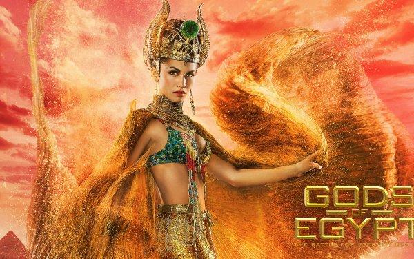 Movie Gods Of Egypt Hathor Goddess Crown Elodie Yung HD Wallpaper | Background Image