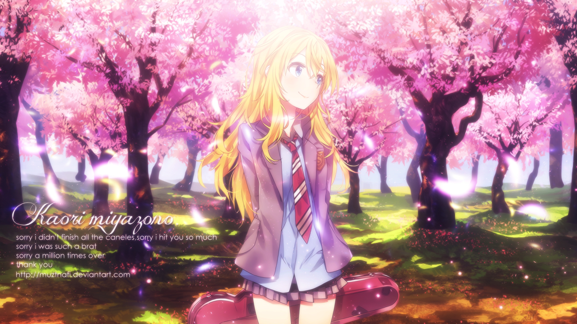 Your Lie In April Hd Wallpaper Background Image 1920x1080 Id