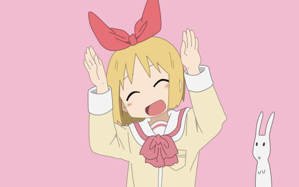 Anime Nichijō Haruna Annaka HD Wallpaper | Background Image