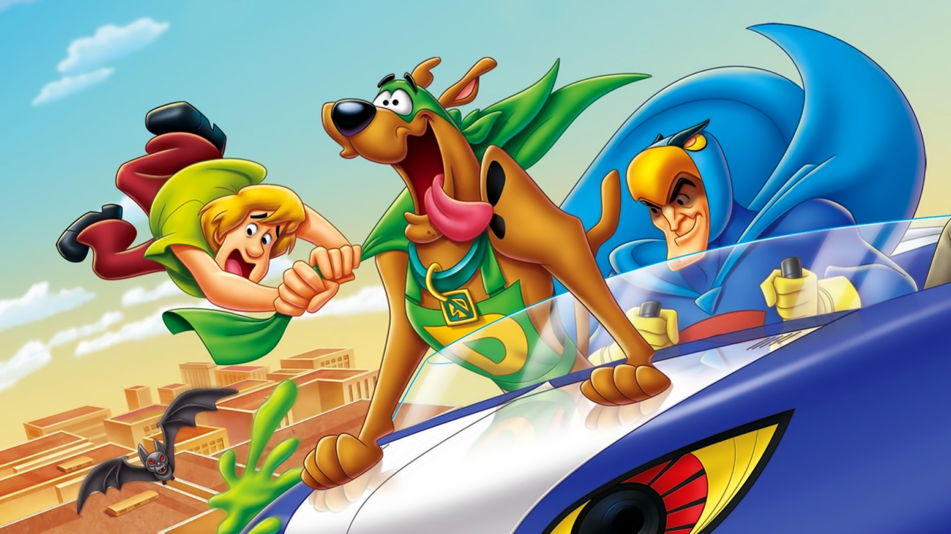 Scooby Doo Movie Cartoon Hd Wallpaper Image For Iphone: 6 Scooby-Doo! Mask Of The Blue Falcon HD Wallpapers