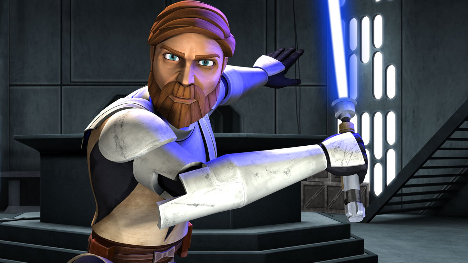 Movie - Star Wars: The Clone Wars  Obi-Wan Kenobi Wallpaper