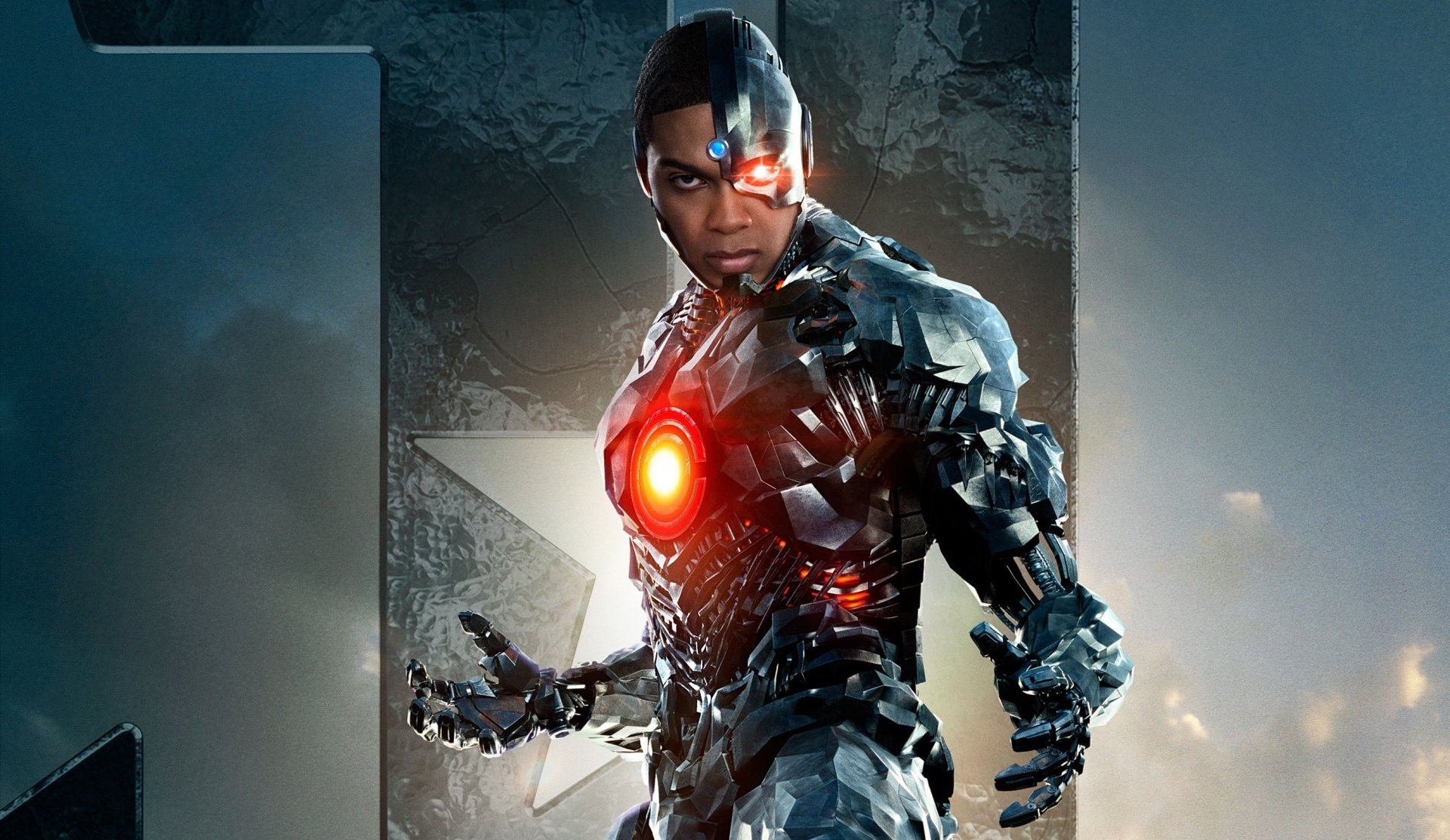 Movie - Justice League (2017)  Justice League Cyborg (DC Comics) Ray Fisher Wallpaper