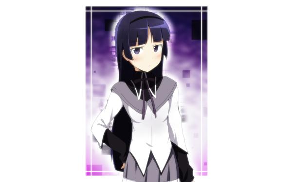 Anime Crossover Ruri Gokō Homura Akemi Oreimo Puella Magi Madoka Magica HD Wallpaper | Background Image