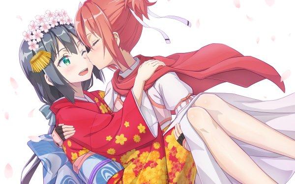 Anime Yuuki Yuuna wa Yuusha de Aru Togo Mimori Yuki Yuna Yuri HD Wallpaper | Background Image