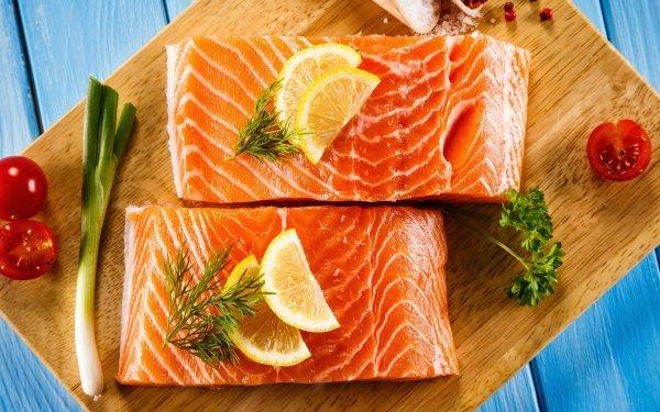 Alimento Pescado Salmon Marisco Fondo de pantalla HD   Fondo de Escritorio
