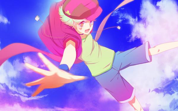Anime No Game No Life Tet Collar Shorts Sky Cloud Hat Grey Hair HD Wallpaper | Background Image