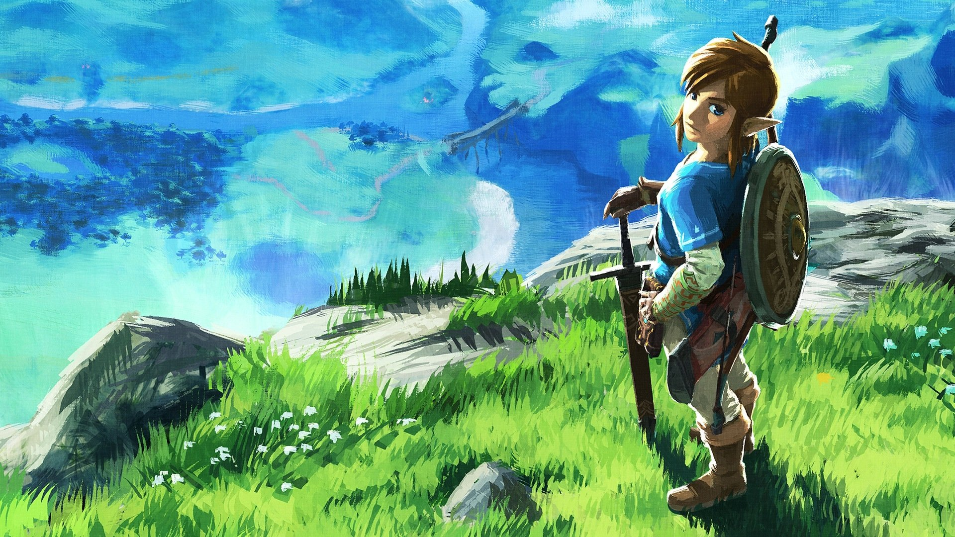 Breath Of The Wild Wallpaper Hd: Zelda Breath Of The Wild HD Wallpaper