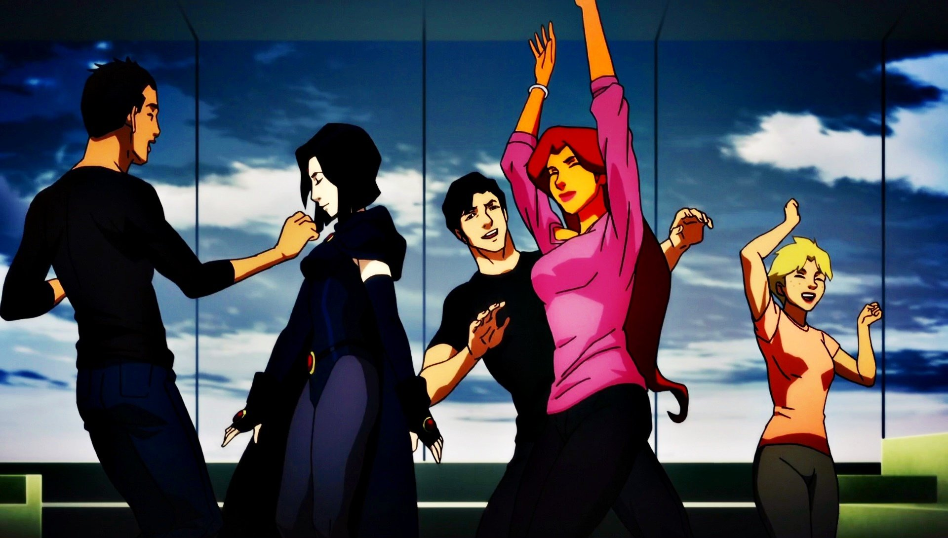 Teen Titans - Party Hd Wallpaper  Background Image  1920X1090  Id822439 -2091