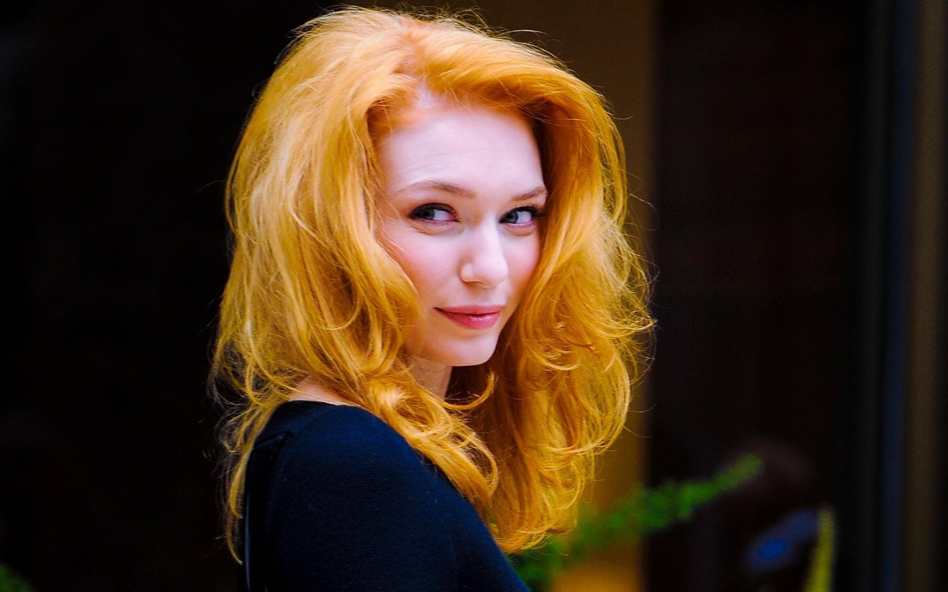 British redhead actress