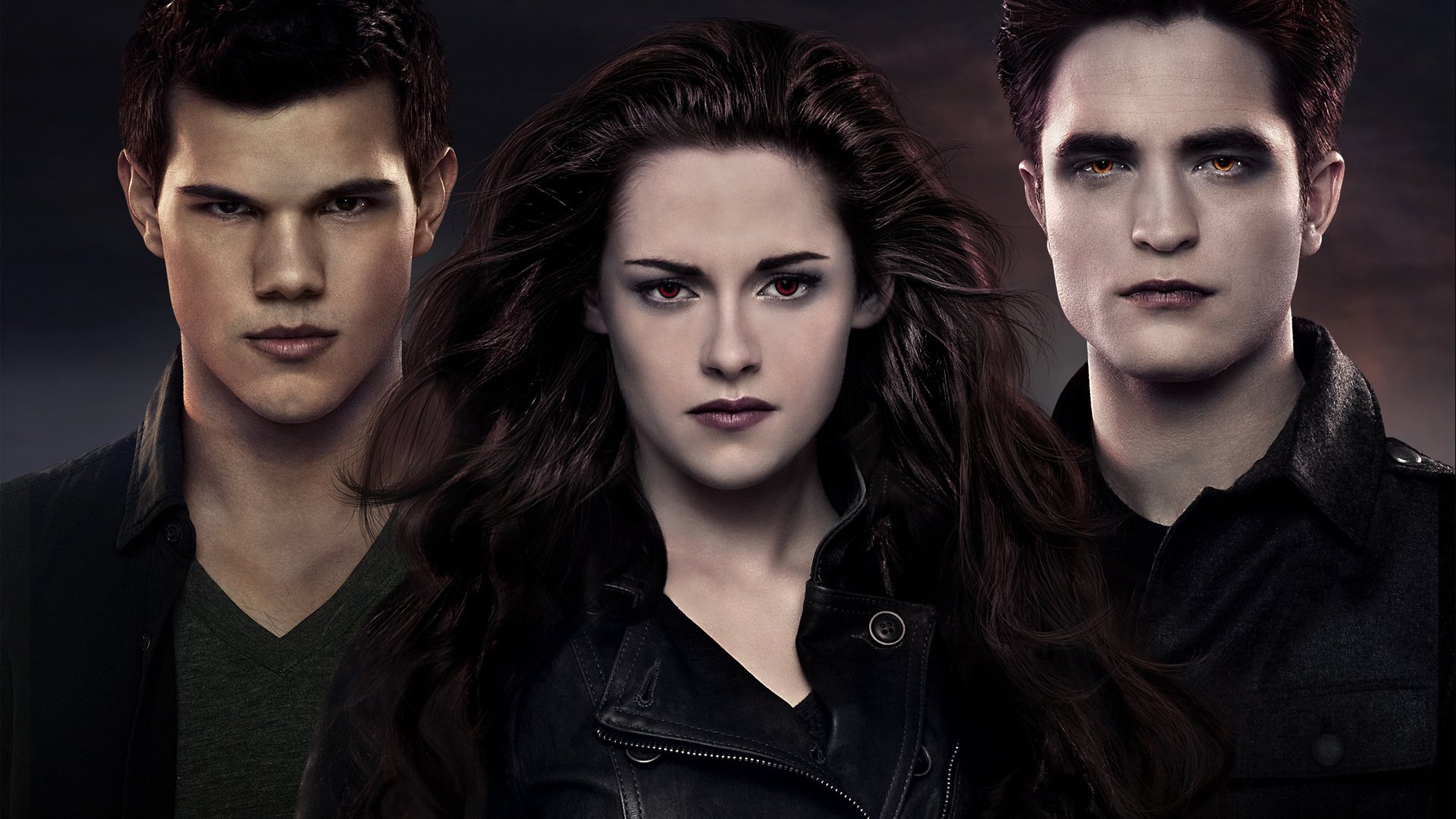 Movie - The Twilight Saga: Breaking Dawn - Part 2  Kristen Stewart Bella Swan Robert Pattinson Edward Cullen Taylor Lautner Jacob Black Wallpaper