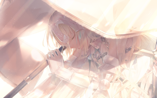 Anime Fate/Grand Order Fate Series Saber Ruler Jeanne d'Arc Fate/Apocrypha HD Wallpaper | Background Image