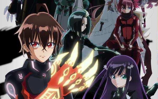 Anime Twin Star Exorcists Benio Adashino Rokuro Enmadou HD Wallpaper | Background Image