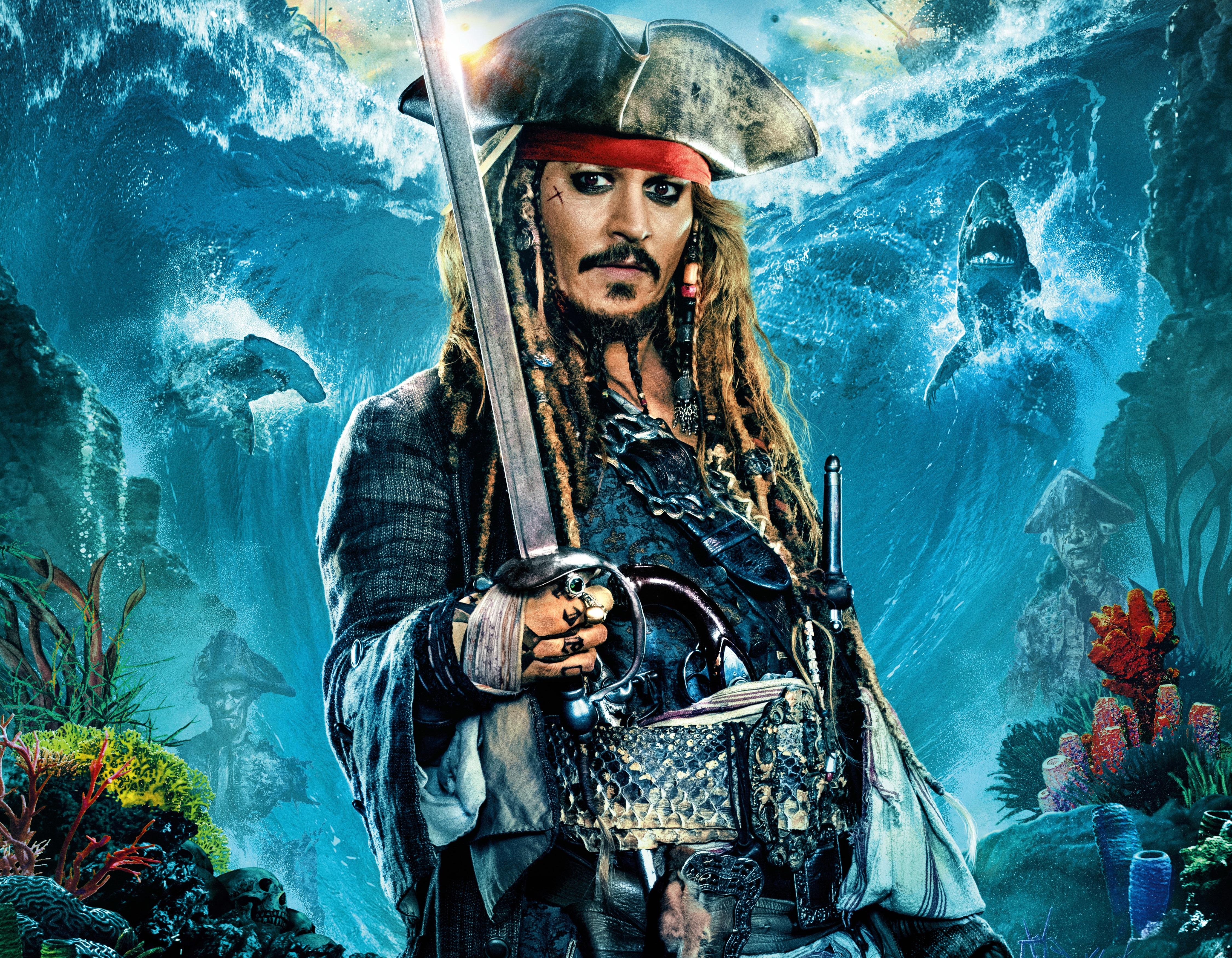 Dead Men Tell No Tales Wallpaper: Pirates Of The Caribbean: Dead Men Tell No Tales 4k Ultra