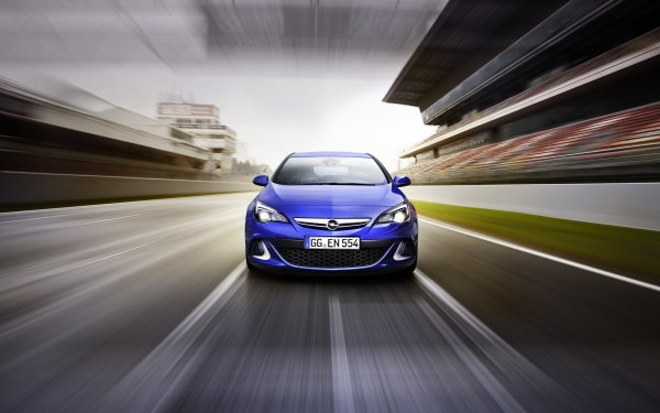 Vehicles Opel Astra Opel Car Blue Car HD Wallpaper   Background Image