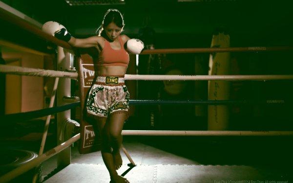 Women Asian Boxing HD Wallpaper | Background Image