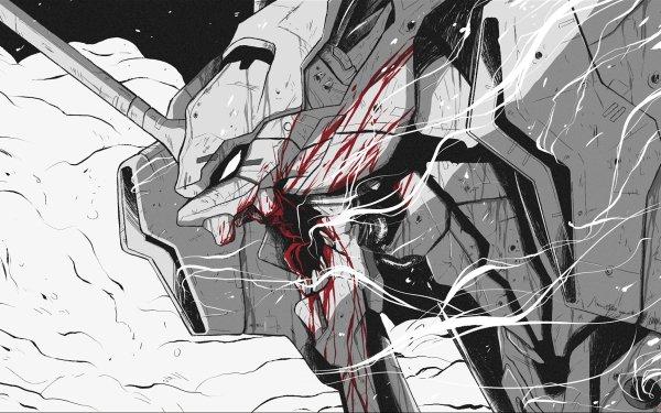 Anime Neon Genesis Evangelion Evangelion Evangelion Unit-01 HD Wallpaper | Background Image