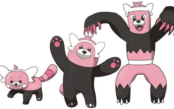 Video Game Pokémon: Sun and Moon Pokémon Bewear HD Wallpaper   Background Image