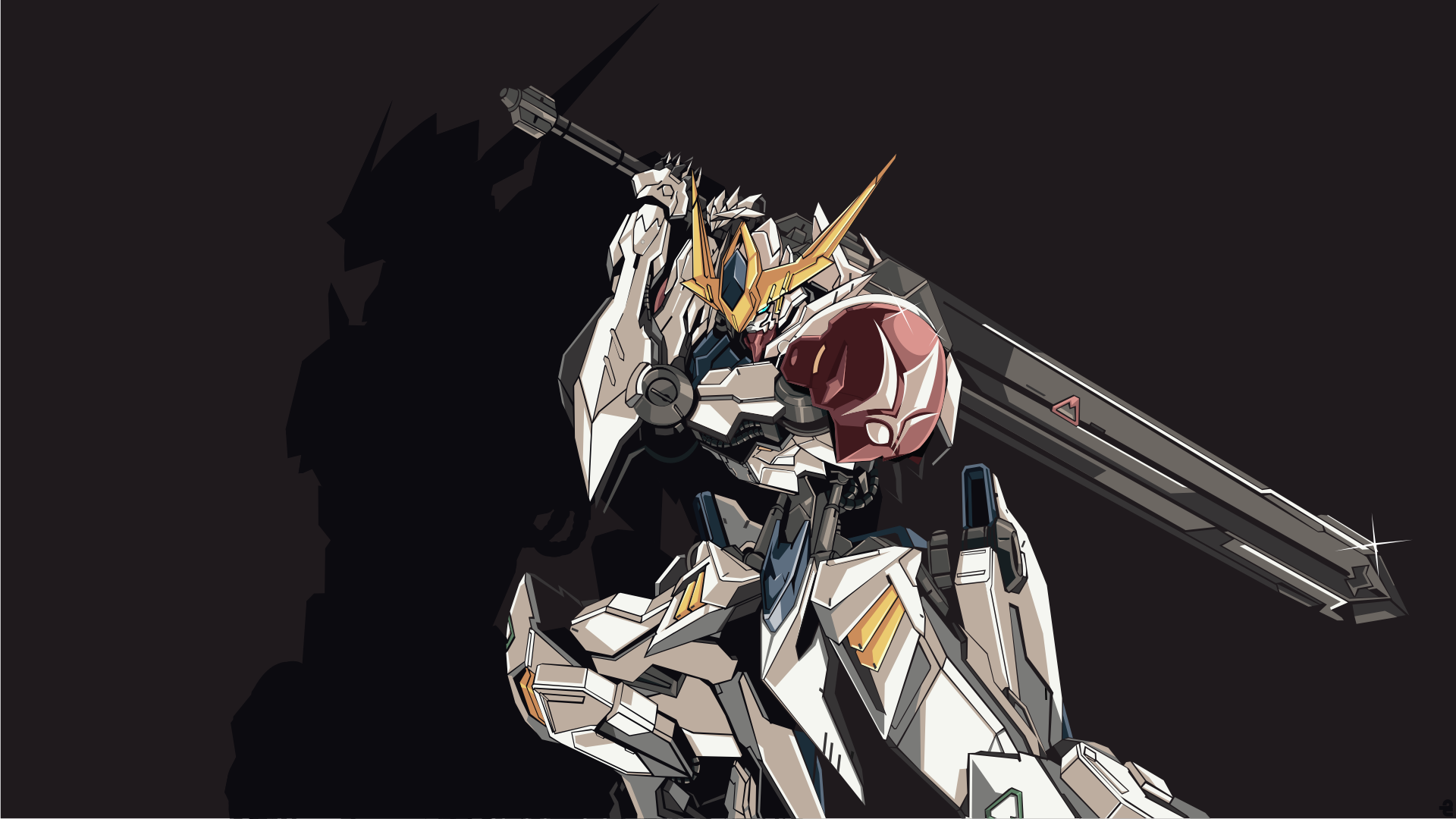 Mobile Suit Gundam Iron Blooded Orphans Hd Wallpaper Background