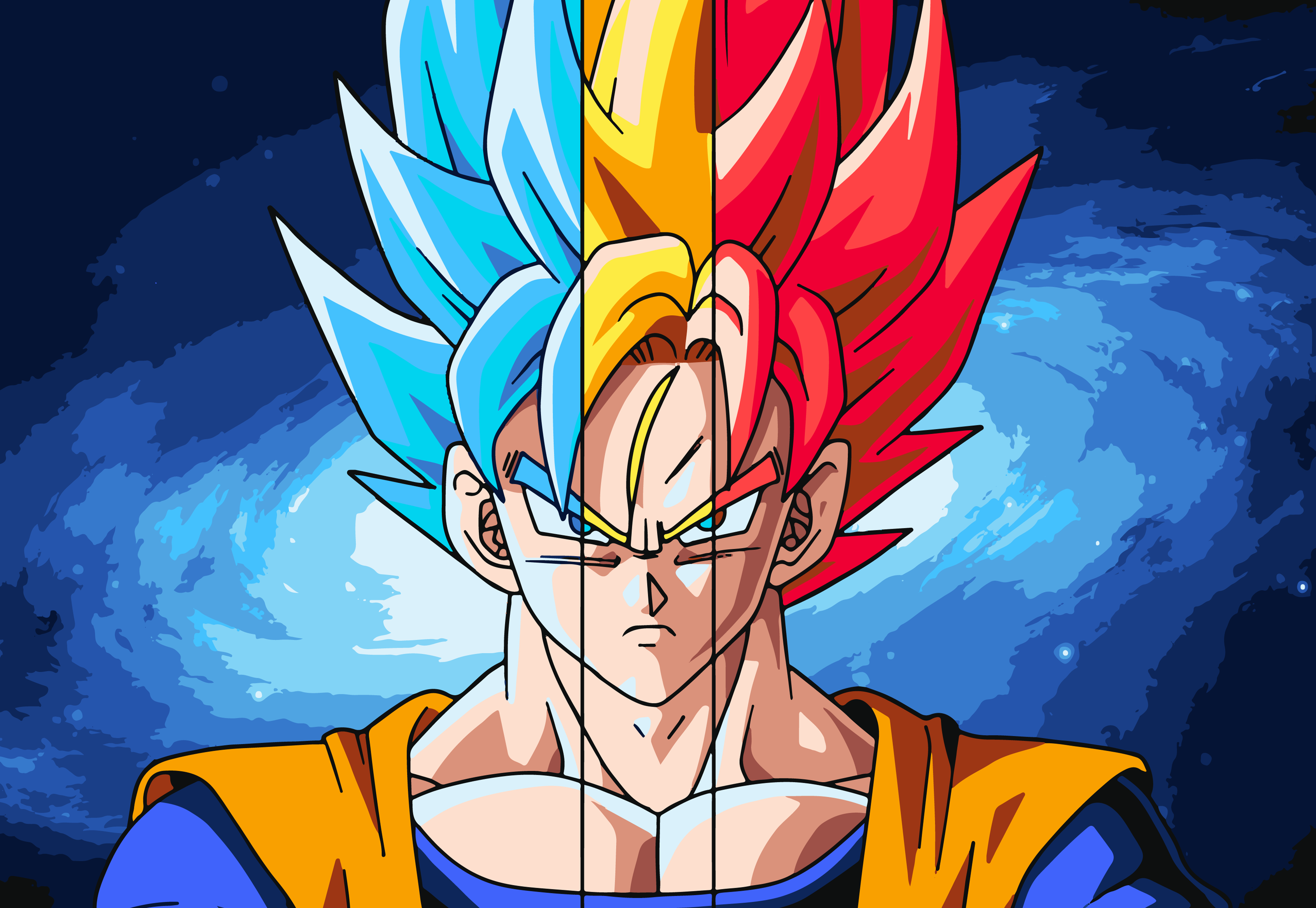88 Super Saiyan Hd Wallpapers Background Images Wallpaper Abyss