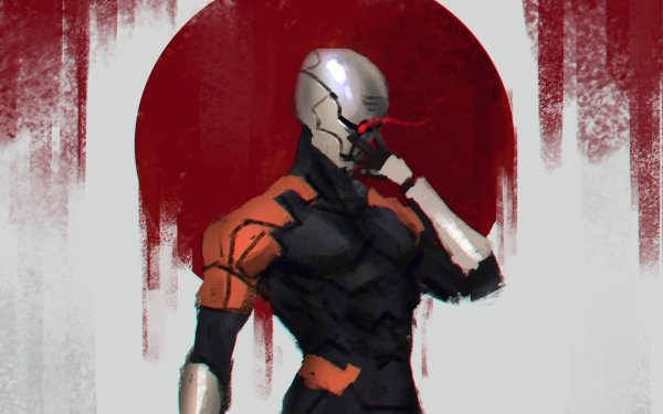 Video Game Metal Gear Solid Gray Fox Cyborg HD Wallpaper   Background Image