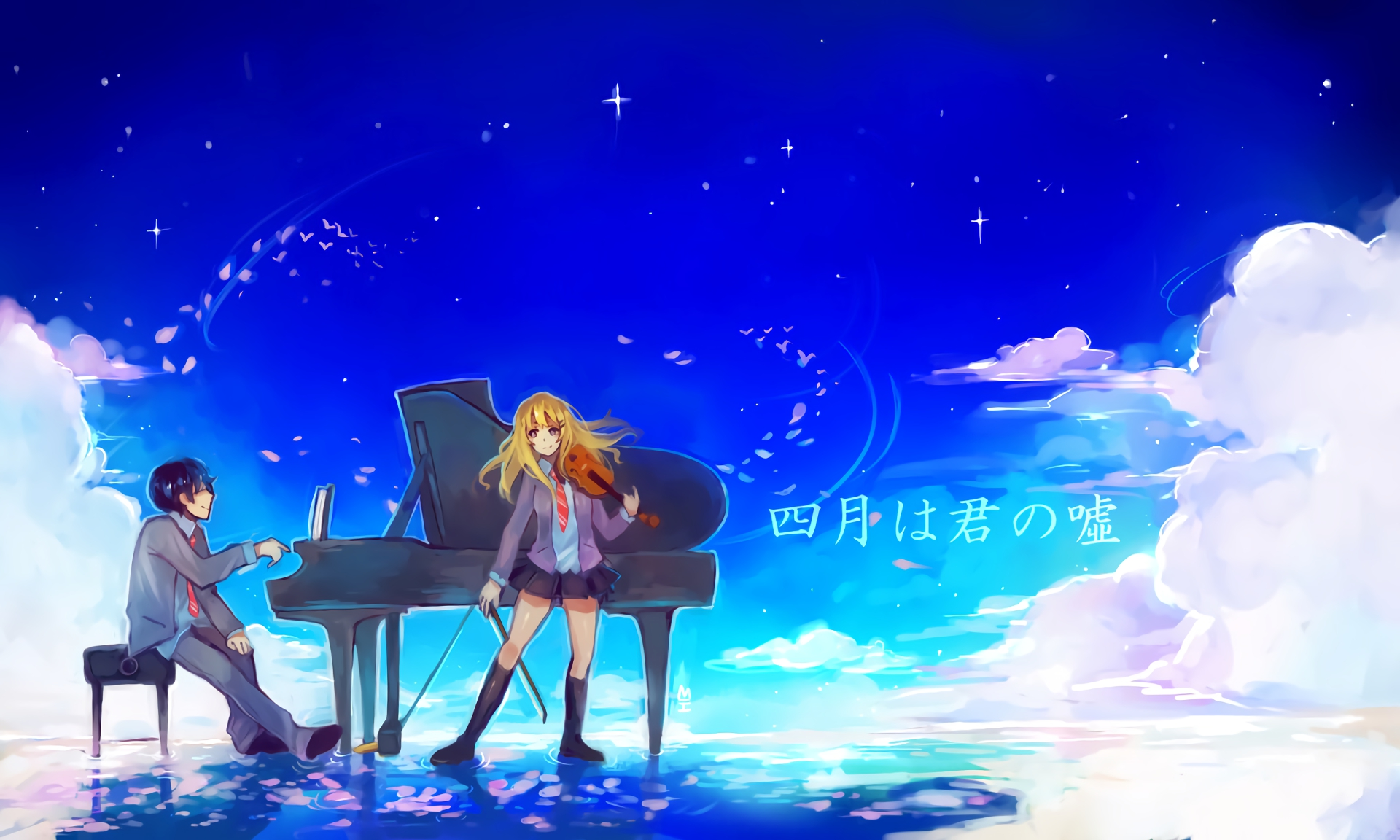 Your Lie in April HD Wallpaper | Background Image ...