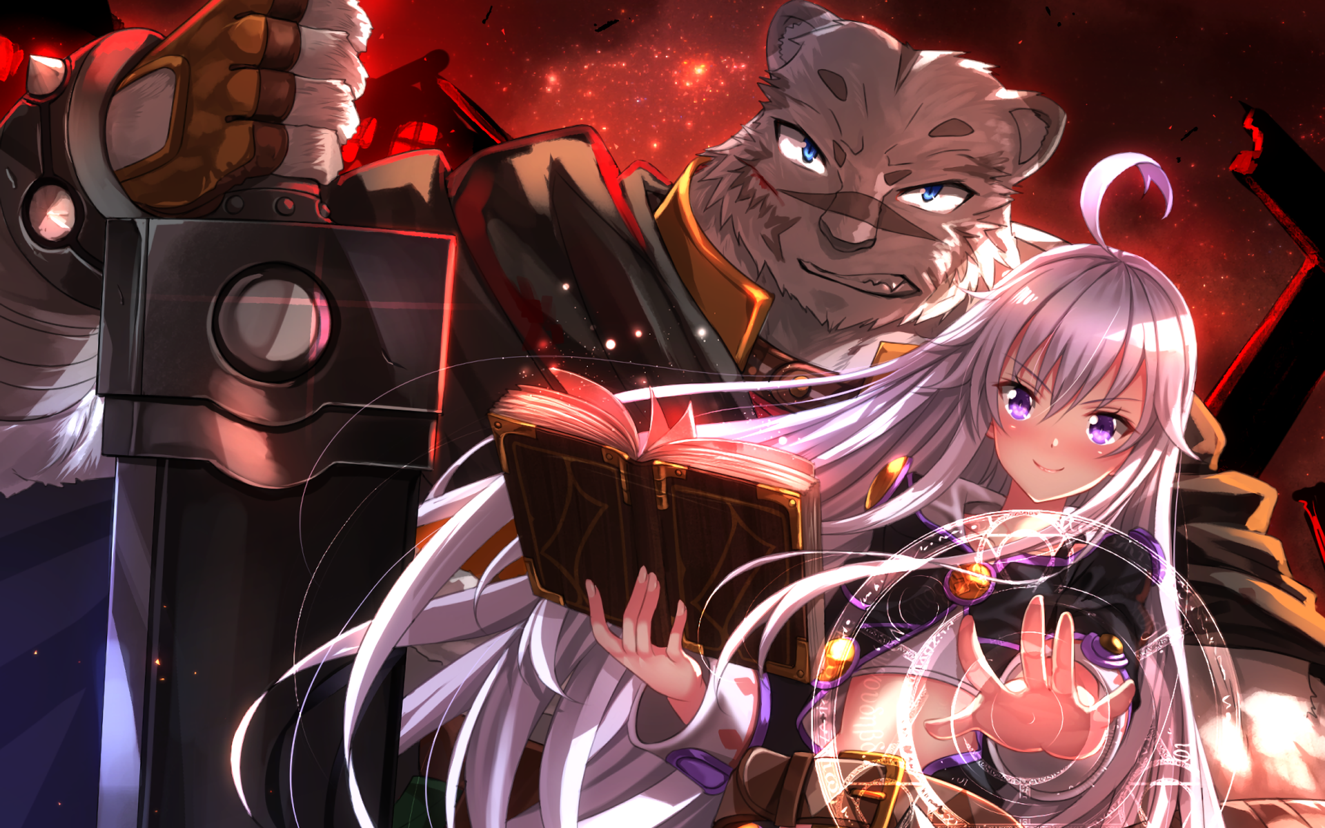 grimoire of zero hd wallpaper