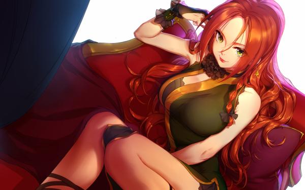 Anime Touhou Hong Meiling HD Wallpaper | Background Image