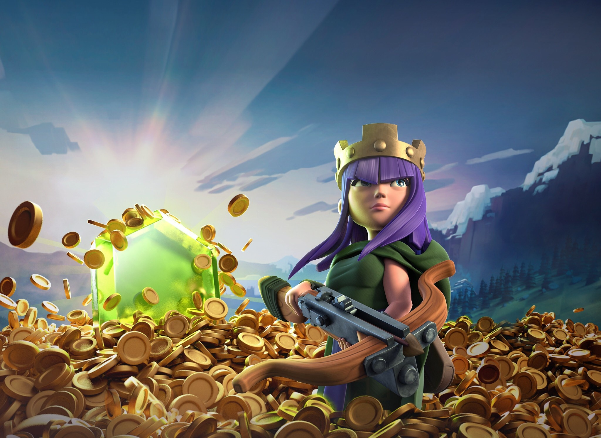 Clash of Clans Full HD Wallpaper and Background 2048x1493 ID