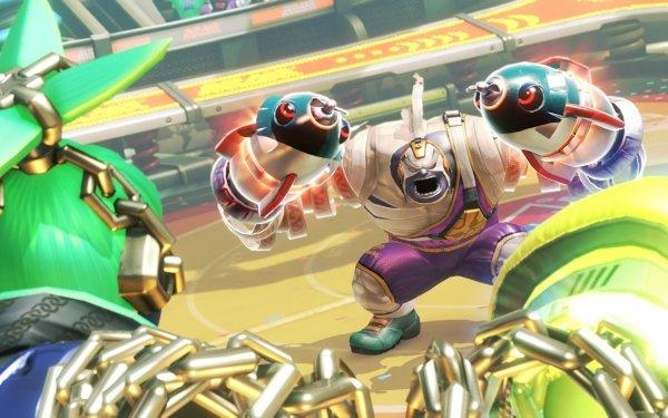 Video Game Arms Ninjara Master Mummy HD Wallpaper | Background Image