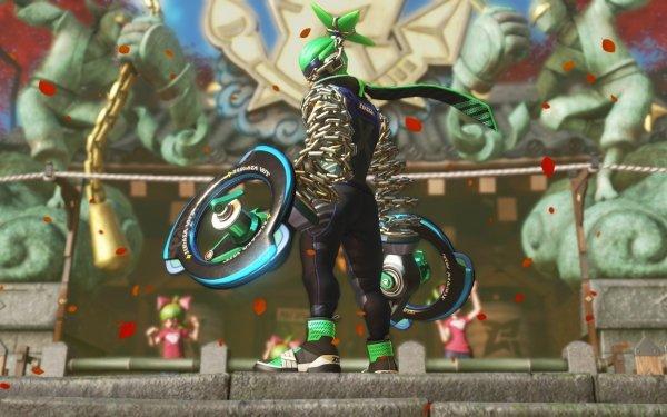 Video Game Arms Ninjara HD Wallpaper | Background Image