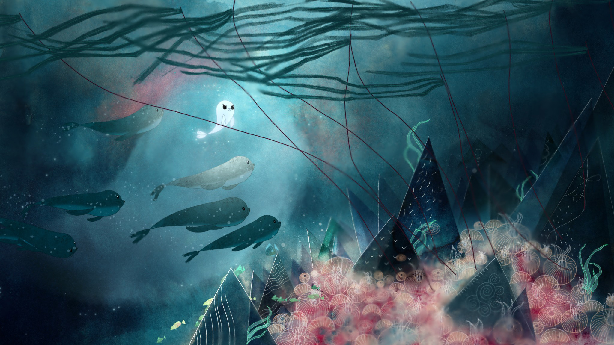 Song Of The Sea Hd Wallpaper Background Image 2048x1152 Id
