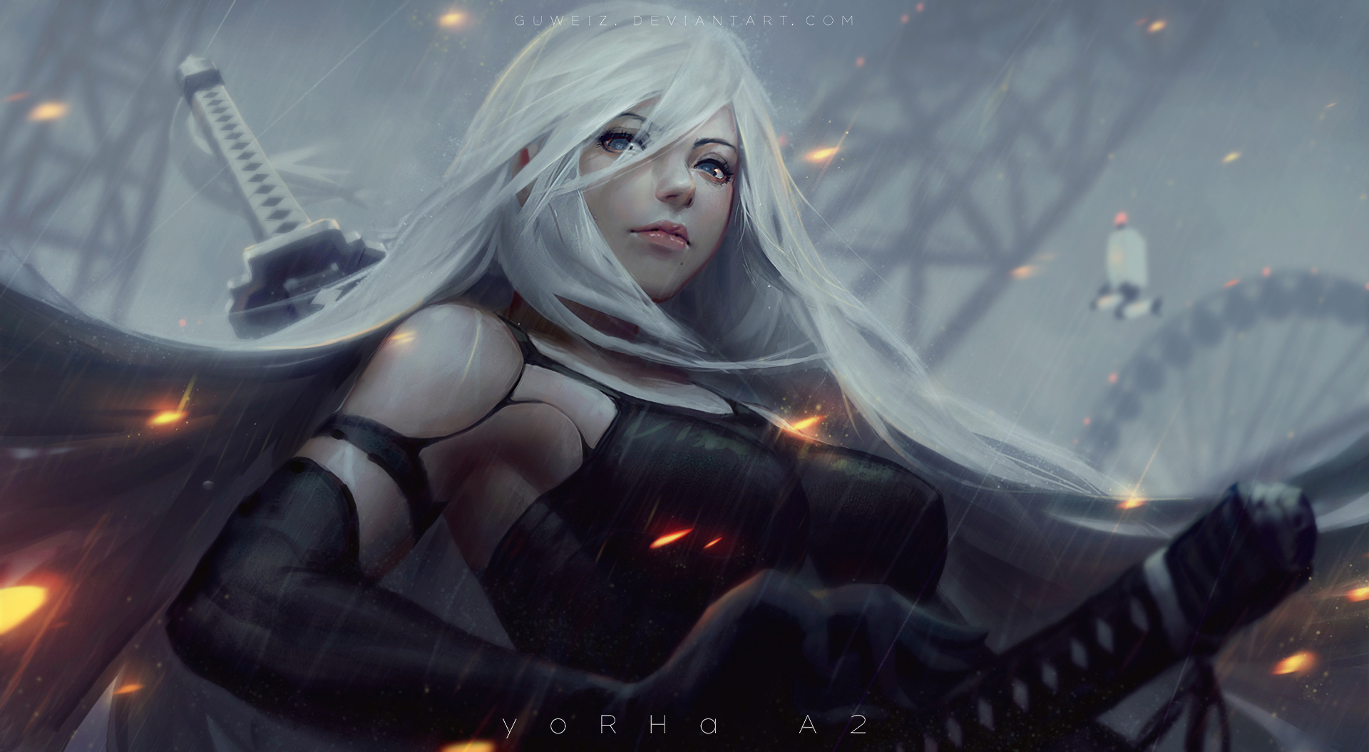 237 Nier Automata Hd Wallpapers Background Images Wallpaper Abyss