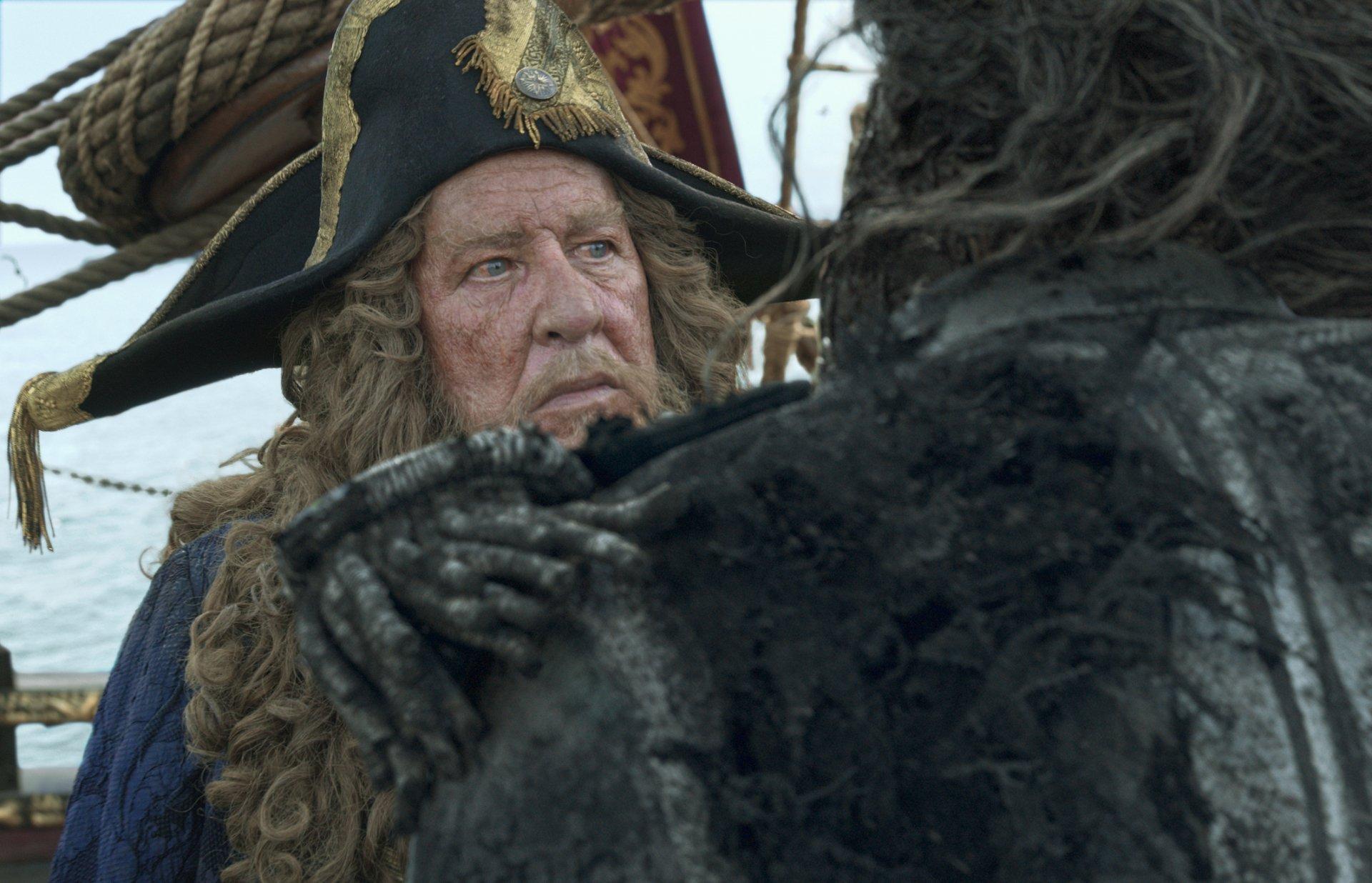 Pirates des Caraïbes : La Vengeance de Salazar Fond d ...