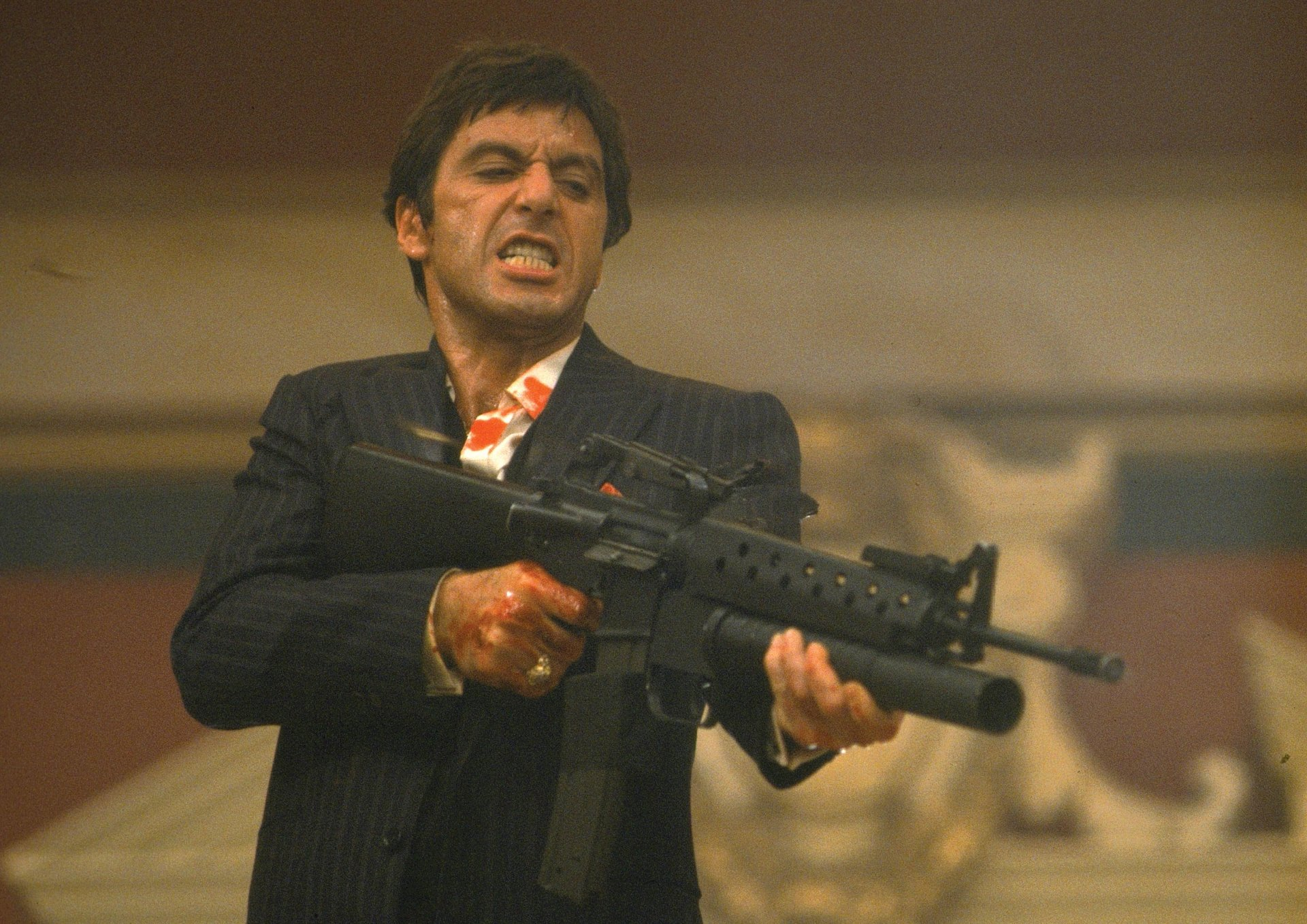 Al Pacino as Scarface Full HD Wallpaper and Background 1920x1358