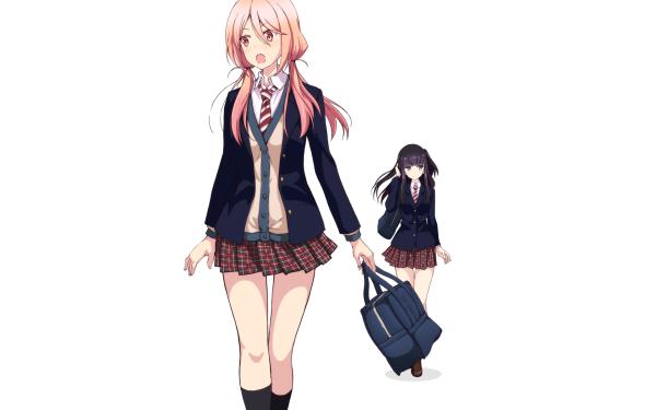 Anime Netsuzou TRap Hotaru Mizushina Yuma Okazaki HD Wallpaper   Background Image
