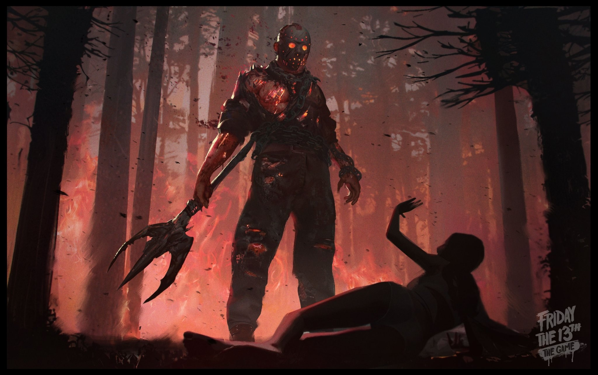 Friday The 13th The Game Hd Wallpaper Background Image 2048x1284 Id 837639 Wallpaper Abyss