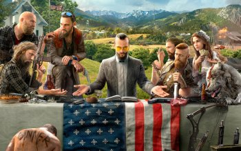 fond d'ecran far cry 5