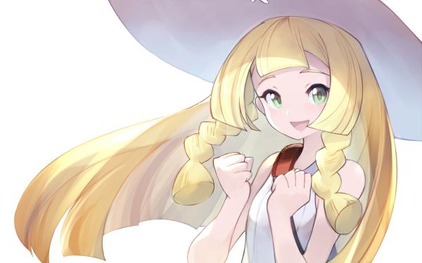 Videojuego Pokémon: Sol y Luna Pokémon Lillie Fondo de pantalla HD | Fondo de Escritorio
