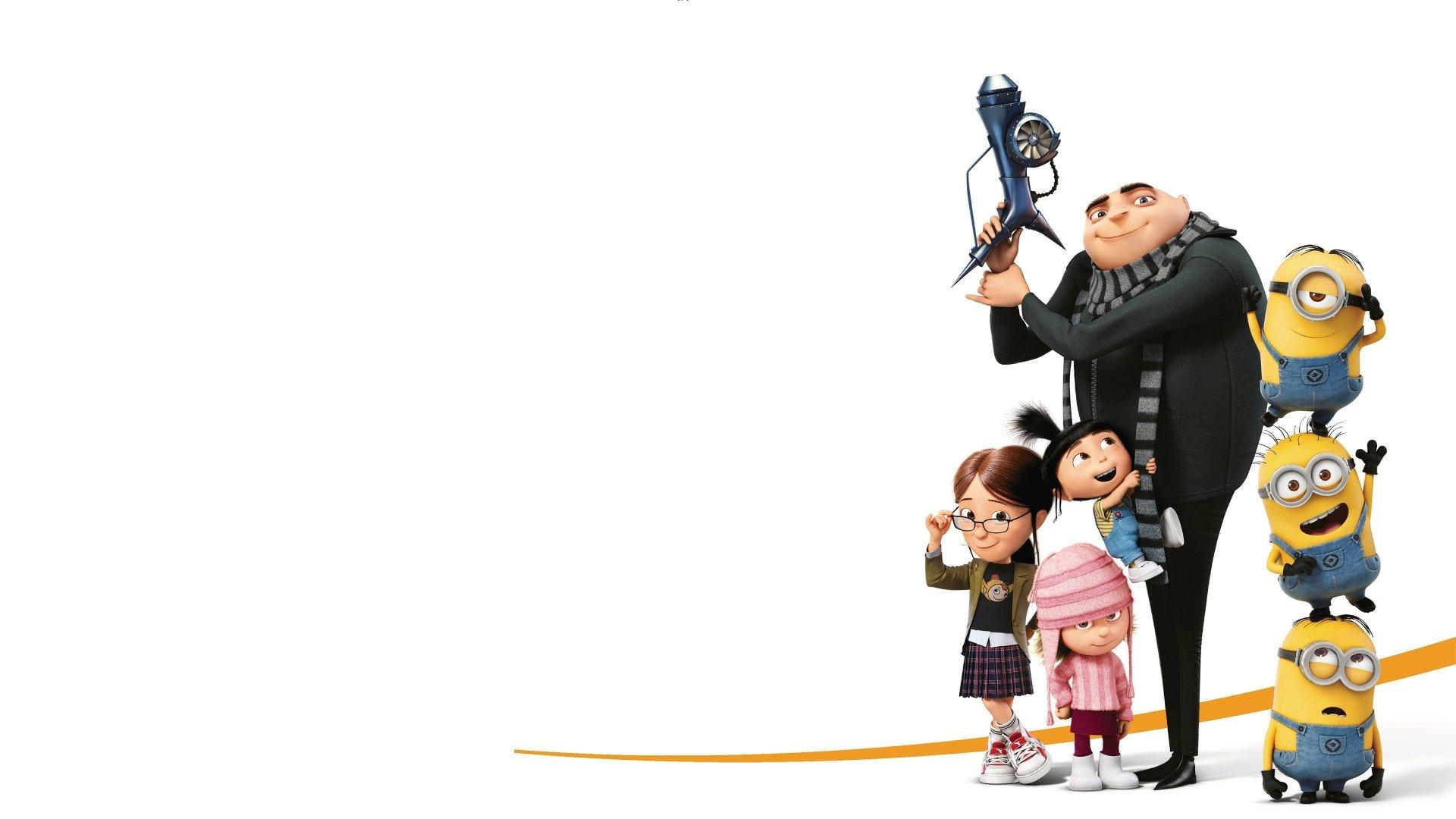 Movie - Despicable Me 3  Gru (Despicable Me) Agnes (Despicable Me) Lucy (Despicable Me) Margo (Despicable Me) Wallpaper