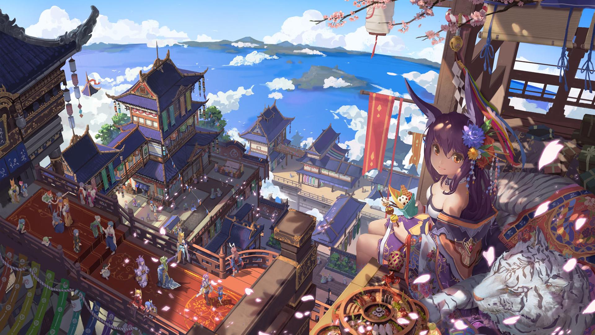 Anime original wallpaper