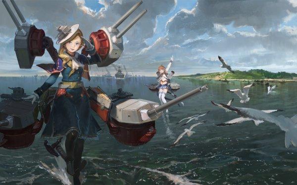 Anime Azur Lane Bilan Hangxian Hood Repulse HD Wallpaper | Background Image