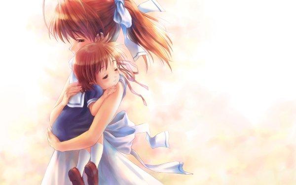 Anime Clannad Nagisa Furukawa Ushio Okazaki HD Wallpaper | Background Image