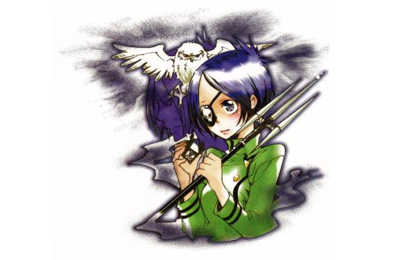 Anime Katekyō Hitman Reborn! Chrome Dokuro Mukuro Rokudo HD Wallpaper | Background Image